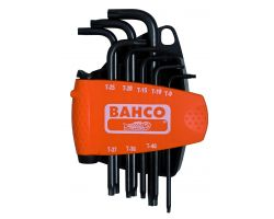 Bahco BE-8675 Offet tamper resistant TORX® key set, 8 pcs