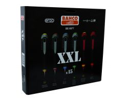 Bahco BE-9877 ERGO™ screwdriver set, 15 pieces