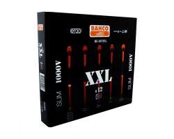 Bahco BE-9878SL ERGO™  insulated screwdriver set, 12 pieces