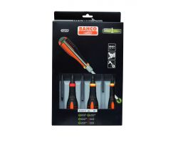 Bahco BE-9881TB ERGO™  through blade screwdriver set
