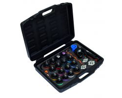 Bahco BE400P24 Cooling system pressure tester set