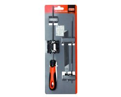 Bahco 168-COMBI-4.0-6922 Chain Saw File Set, Ergo Handle, 200mm Ø 4.0mm, File Guide