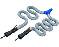Bahco BUCPE3SDH Double exhaust Hoses 2,5M