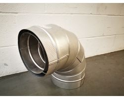 Schiedel 90 Degree Bend (gas) For Ducting 200mm