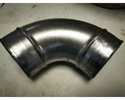 90 Degree Bend For Ducting 100mm