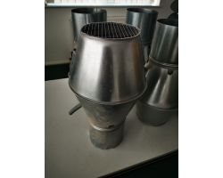 Galvanised Jet Cowl 160mm