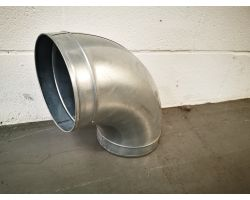 90 Degree Bend For Ducting 200mm