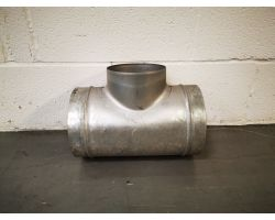 T Piece For Ducting 200x160mm