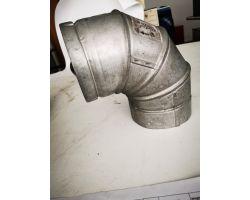 Sf Ltd 888870 Il Gas Vent 90° Bend 125mm