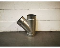 Angled T Piece For Ducting 160mm