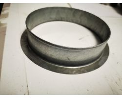 Galvanised Flange 160mm