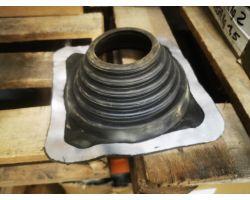 Aztec International Sq601ba Roof Flashing, Black 85 X 210mm