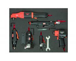 """Bahco FF1A5037 1/2"""" Impact Wrench Set 3/3 FF1A5037-12 pcs"""