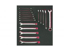 Bahco FF1F3010 Foam with Comb. Wrenches Set -17 Pcs 2/3