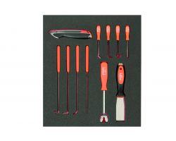 Bahco FF1F5008 Foam with Mix Knife,Awls & Hooks11P 2/3