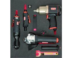 "Bahco FF1F5011 Foam with 1/2"" Impact Wrench Set 2/3"