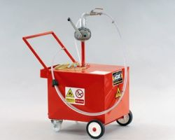 Mobile Fuel Retriever, unit capacity 130 litres (30 gallons)