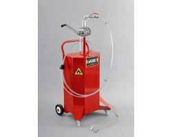 Mobile Fuel Retriever, unit capacity 80 litres (18 gallons)