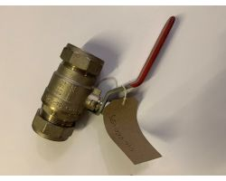 Ball Valve 35mm Compression End  B/c End