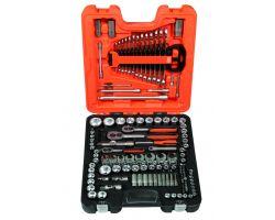 Bahco S138 Socket Set,1/4-3/8-1/2  138Pcs