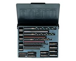 Bahco 1418S Stud Extractor Set, 20-Piece (1411-1415, 1418, 441)