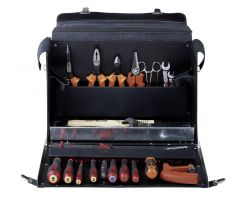 Bahco 3049-2 Electrican's tool bag,28 tools