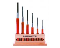 Bahco 3646/6 Drift punches with hand protection,Tool set