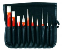 Bahco 3656/10 Chisel Tool set, 10 pieces