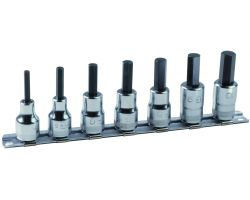 "Bahco 7409MR/S7 3/8"" socket set with 7 pieces of ref 7409M on Rail-187."