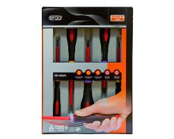 Bahco BE-9882S Insulated ERGO™ screwdrivers set, 5pcs  Set