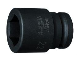 """Bahco K7801VM-24 Impact Socket 1/2"""", Hex., Hardened, 24mm Af"""