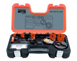 Bahco 3834-SET-62-16/50 Holesaw Set Bim - 9 piece