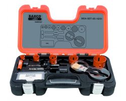 Bahco 3834-SET-65-16/51 Holesaw Set Bim, 10 piece