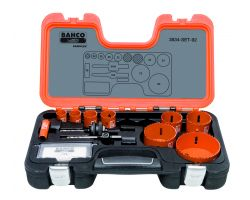 Bahco 3834-SET-92 Holesaw Set Bim 11 piece