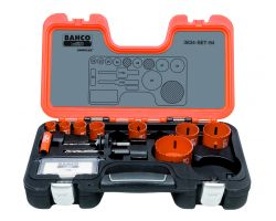 Bahco 3834-SET-94 Holesaw Set Bim 11 piece