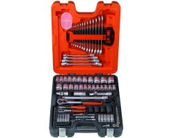 """Bahco S106 Socket sets 1/4"""", 1/2"""" + combination wrench, 106 piece"""