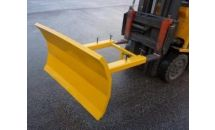 Snow Plough to fit Fork Truck
