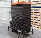 Electric vehicle lifting table battery