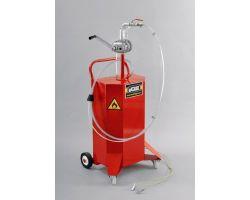 Mobile Fuel Retriever, unit capacity 80 litres (18 gallons)