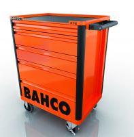 Bahco E72 5 Drawer mobile tool trolley
