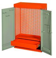 Bahco 1495CD60BK Tool Cabinet W/ 2 Doors_Black