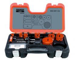 Bahco 3834-SET-103 Holesaw Set Bim, 11 piece
