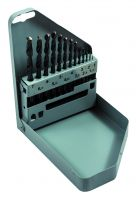 Bahco 451-MB-1 High speed steel drill bit set, 13 piece 1-7 By 0.5