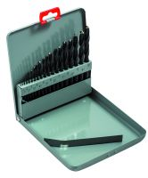 Bahco 451-MB-2 High speed steel drill bit set, 19 piece - 1-10 By 0.5