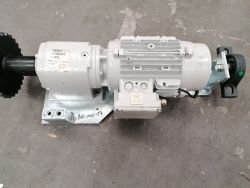 1691601522 Motor (3.7kw, 5.2km/h Motor With Brake And Motor Plate)   S6