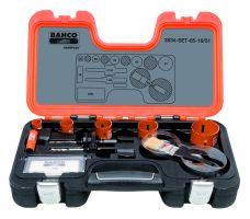 Bahco 3834-SET-65-16/51 Holesaw Set Bim, 10 piece