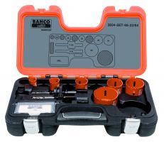 Bahco 3834-SET-65-22/64 Holesaw Set Bim 9 piece
