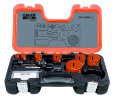 Bahco 3834-SET-72 Holesaw Set Bim 9 piece