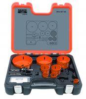 Bahco 3834-SET-86 Holesaw Set Bim 12 piece