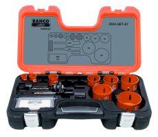 Bahco 3834-SET-87 Holesaw Set Bim 12 piece